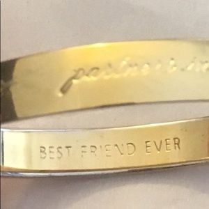VTG Kate Spade | Best Friend Ever Gold Bangle